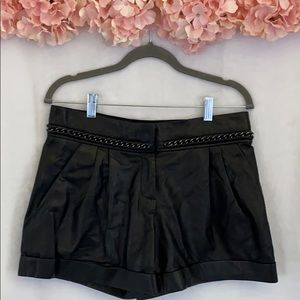 Tory Burch size 4 Black shorts
